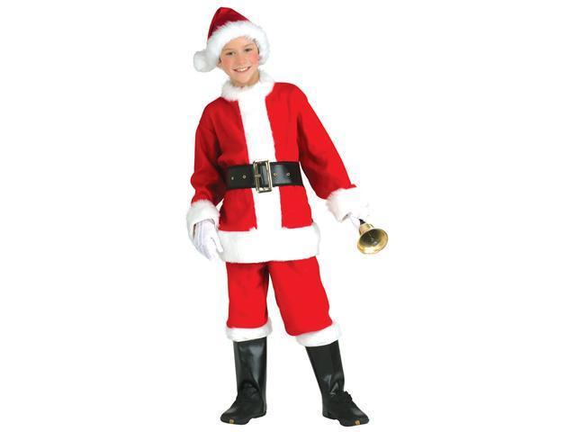 Kids Flannel Santa Costume - Christmas Costumes