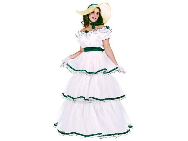 Adult White Southern Belle Costume - Civil War Costumes