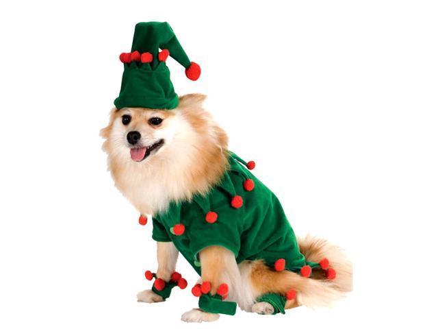 Elf Dog Costume - Dog Costumes