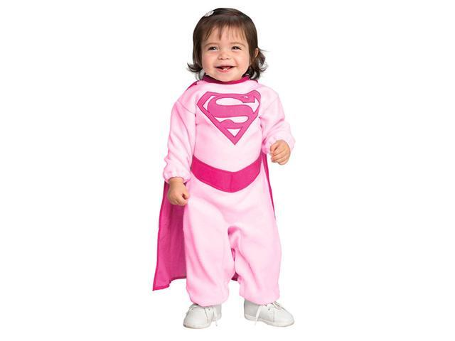 Pink Baby Supergirl Costume - Baby Costumes