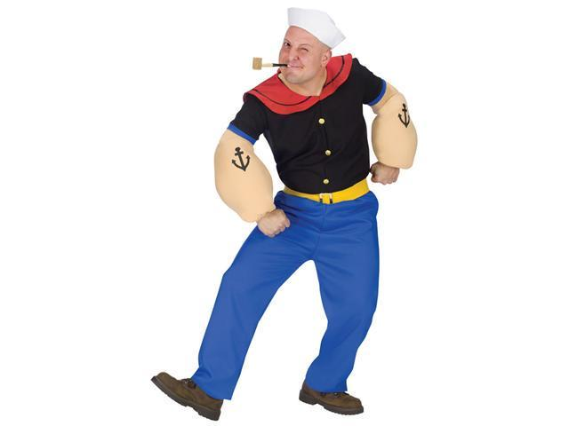 Adult Popeye Costume - Funny Cartoon Costumes