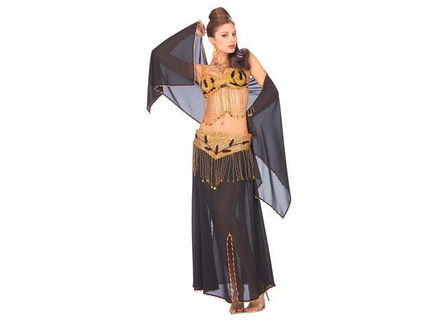 Deluxe Black Harem Dancer Costume - Belly Dancer Costumes - Sexy