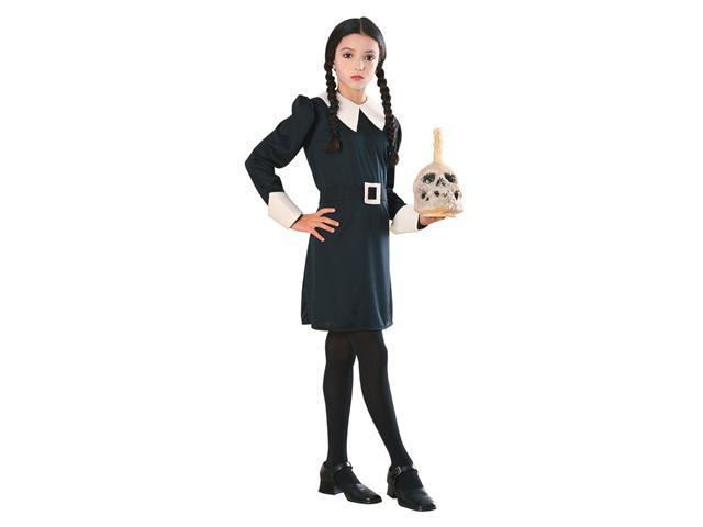 Girls Wednesday Addams Costume - Addams Family Halloween Costumes