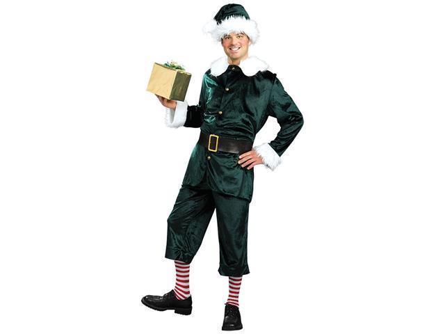 Jolly Green Santa's Helper Costume - Christmas Elf Costumes