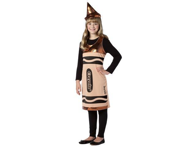 Tween Bronze Crayola Costume Dress - Crayola Costumes
