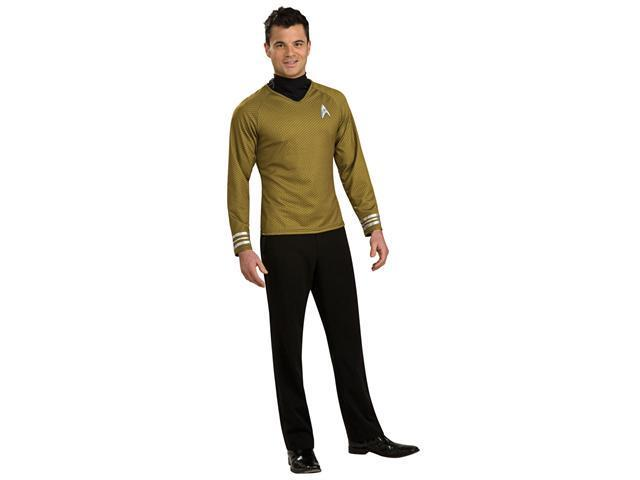 Deluxe Star Trek Gold Shirt Costume - Star Trek Costumes