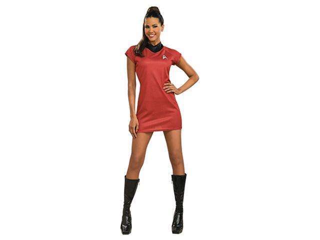 Deluxe Star Trek Movie Red Dress Costume - Star Trek Costumes