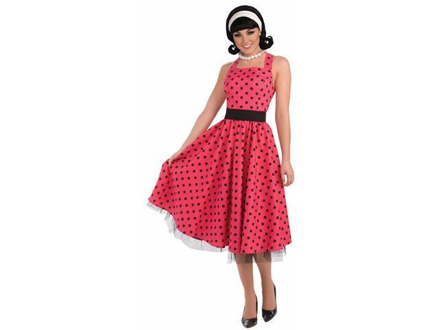 Pretty In Polka Dot Costume - Fifties Costumes