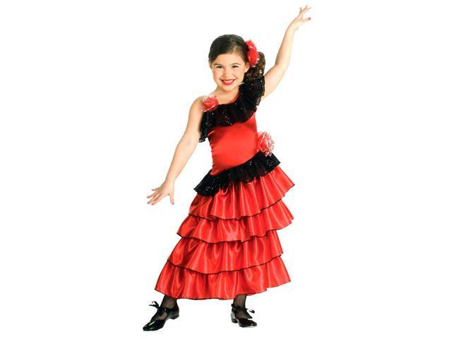 Girls Spanish Princess Costume - Mexican or Spanish Costumes