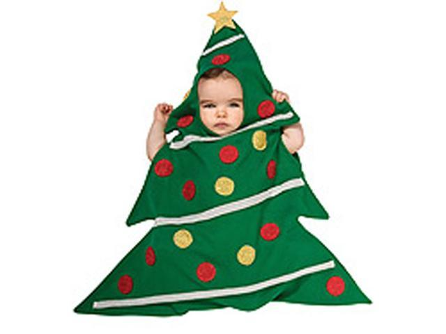 Baby Christmas Tree Bunting - Baby Christmas Costumes