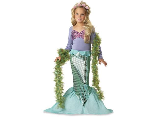 Girls Pretty Mermaid Costume - Mermaid Costumes