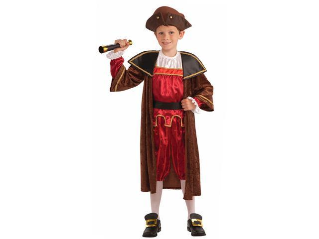 Boys Columbus Costume - Kids Colonial Costumes