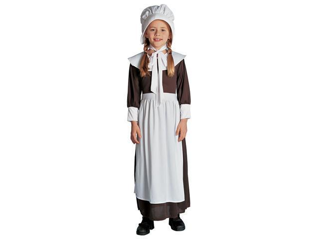 Girls Colonial Girl Costume - Colonial Costumes