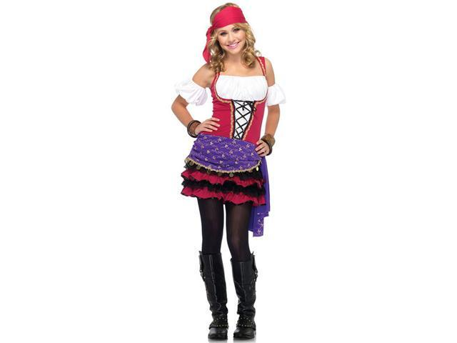 Teen Crystal Ball Gypsy Costume - Teen Halloween Costumes