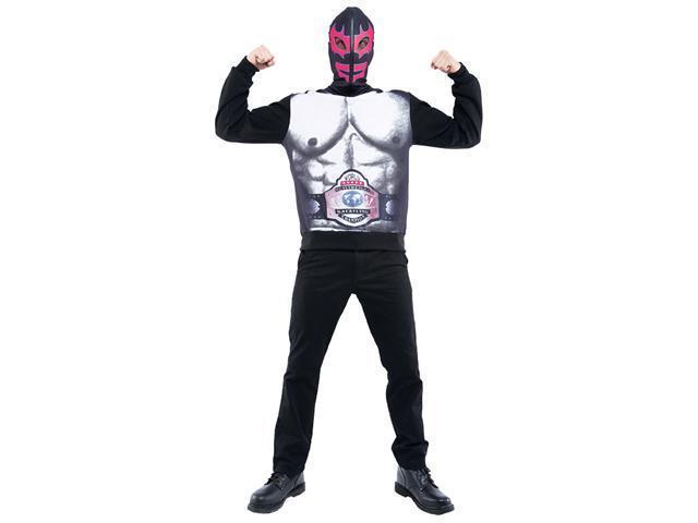 Zipperhead Mexican Wrestler Costume - Mexican Wrestler Costumes