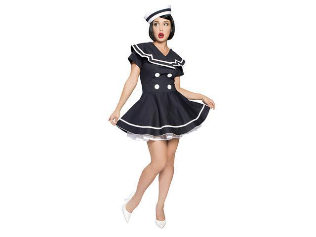 Pin-Up Captain Sailor Costume - Sexy Sailor Costumes