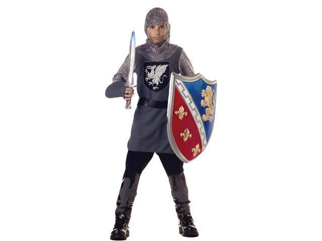 Kids Medieval Valiant Knight Costume - Medieval Costumes