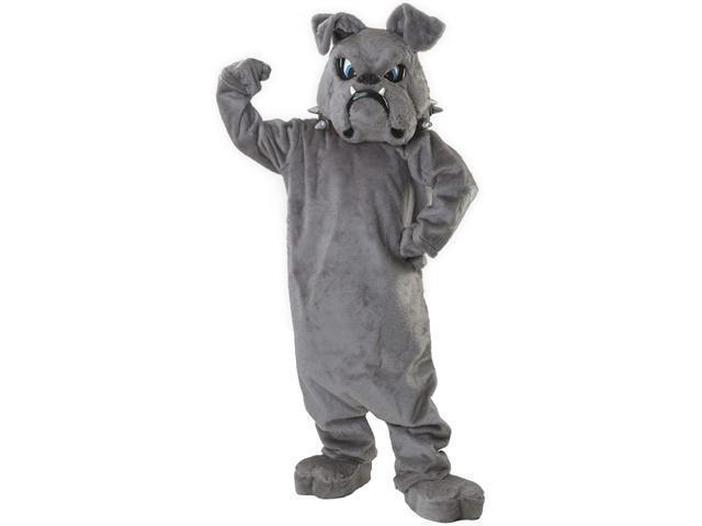Super Deluxe Bulldog Mascot Costume - Animal Mascot Costumes
