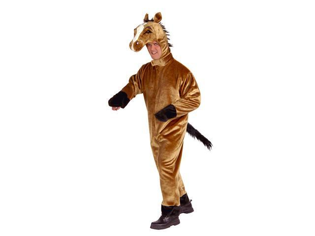 Deluxe Plush Horse Costume - Animal Costumes and Mascots