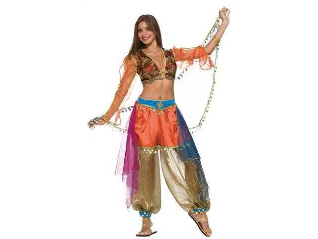 Super Deluxe Sexy Harem Belly Dancer Costume - Belly Dancer Costumes