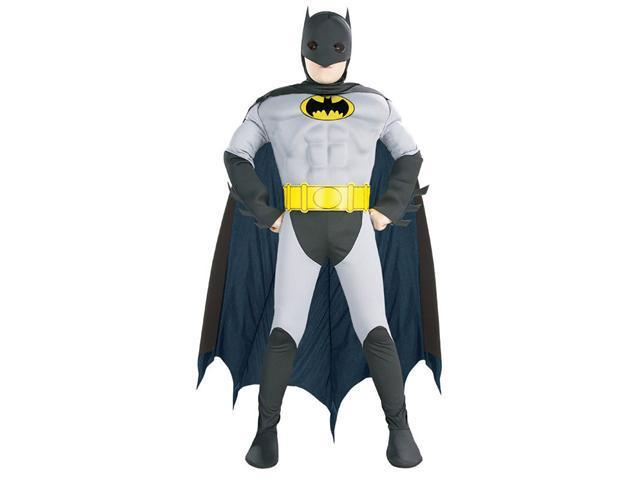 Deluxe Kids Batman Costume - Batman Costumes