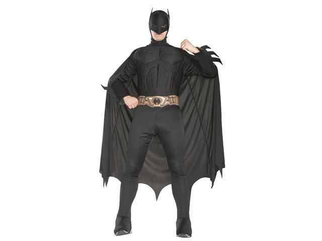 Deluxe Batman Begins Muscle Chest Costume - Batman Begins Costumes