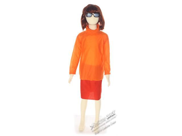 Girls Scooby-Doo Velma Costume - Authentic Scooby-Doo Costumes