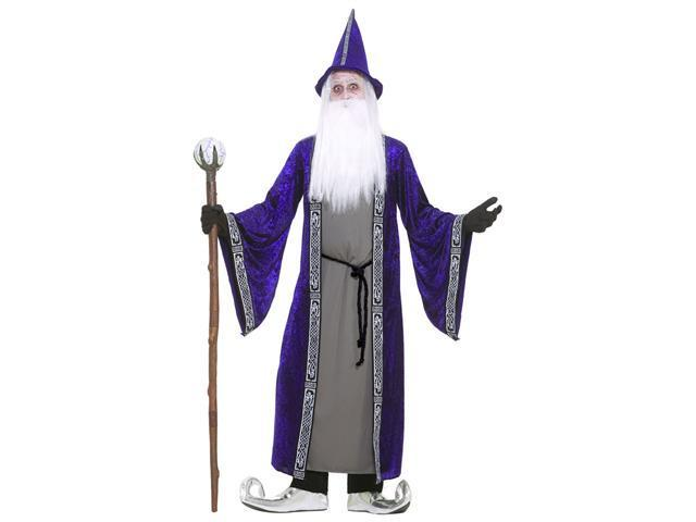 Deluxe Magic Wizard Costume - Medieval Costumes