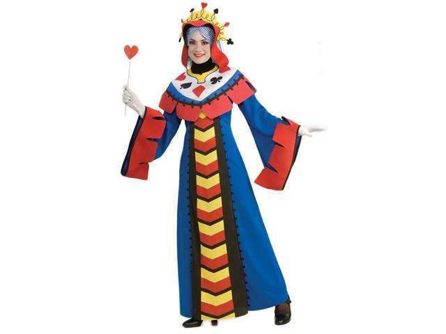 Deluxe Queen Playing Card Costume - Card Halloween Costumes