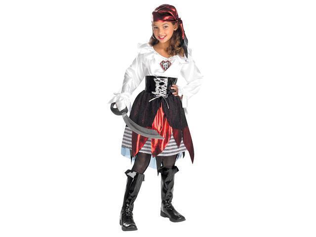 Girls Pirate Lass Pirate Girl Costume - Pirate Costumes