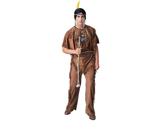 Adult Super Deluxe Indian Warrior Costume - Native American Indian Costumes
