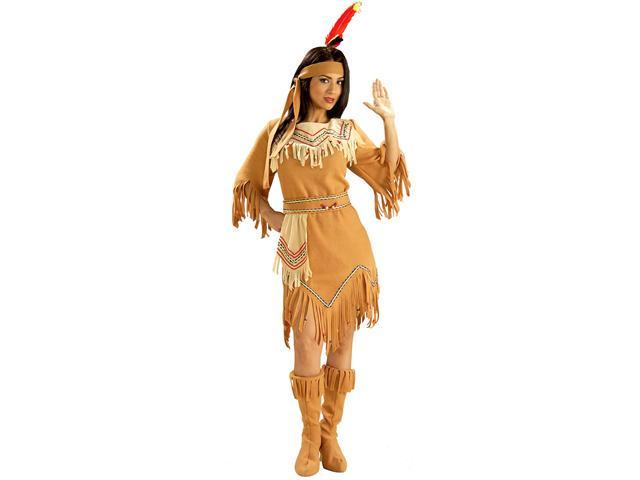 Adult Native American Maiden Indian Costume - Indian Costumes