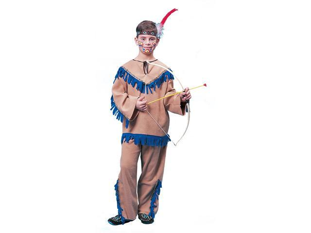 Kids Native American Warrior Indian Costume - Indian Costumes