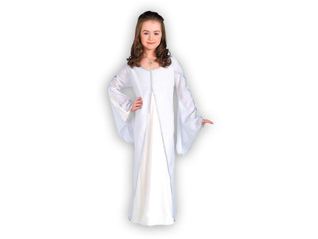 Girls Arwen Dress Costume - White Arwen Costume Dress
