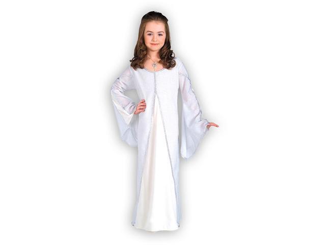 Girls Arwen Dress Costume - White Arwen Costume Dress