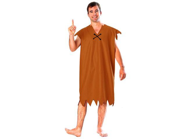 Barney Rubble Costume - Adult Flintstones Costumes