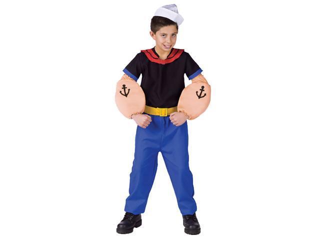 Gumby Costume Kids Kids Popeye Costume Funny