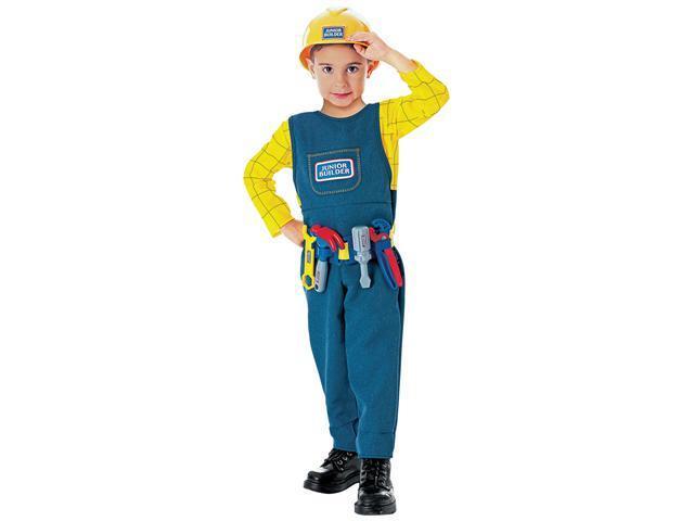 Toddler Junior Builder Costume - Kids Playtime Costumes