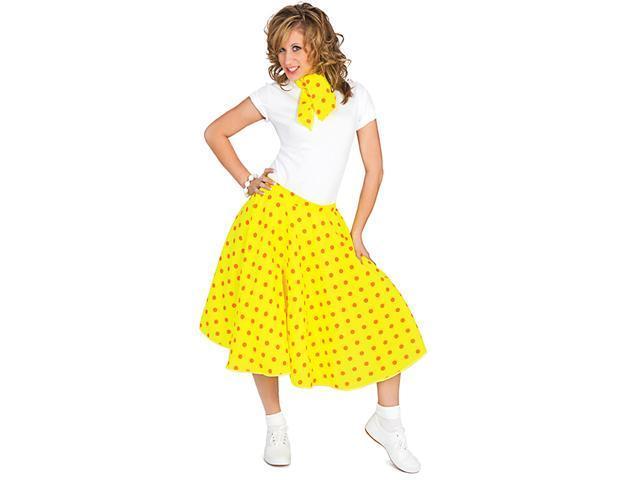 50's Sock Hop Costume Skirt - Fifties Costumes