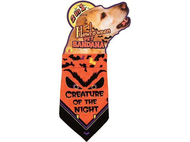 Creature of the Night Bandana - Halloween Dog Costumes