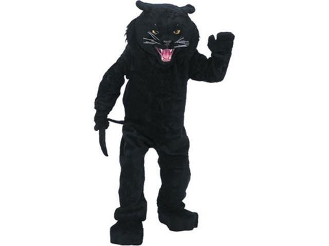 Super Deluxe Black Panther Mascot Costume - Animal Mascot Costumes