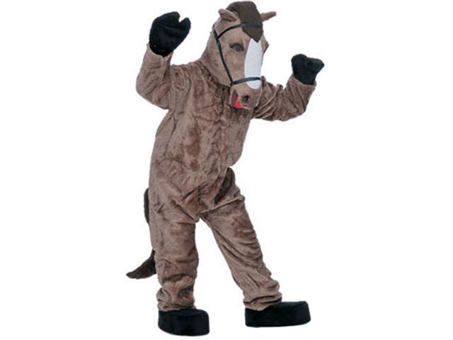 Super Deluxe Horse Mascot Costume - Animal Mascot Costumes