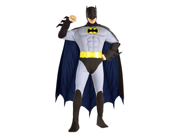 Adult Muscle Chest The Batman Costume - Batman Costumes