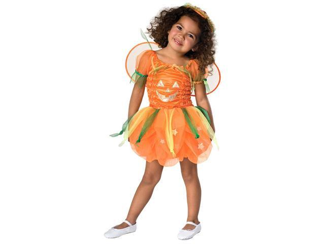 Orange Pumpkin Fairy Toddler Costume - Toddler Halloween Costumes