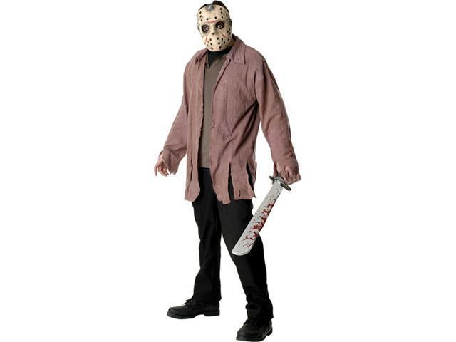 Scary Adult Standard Jason Costume  - Friday The 13th Costumes