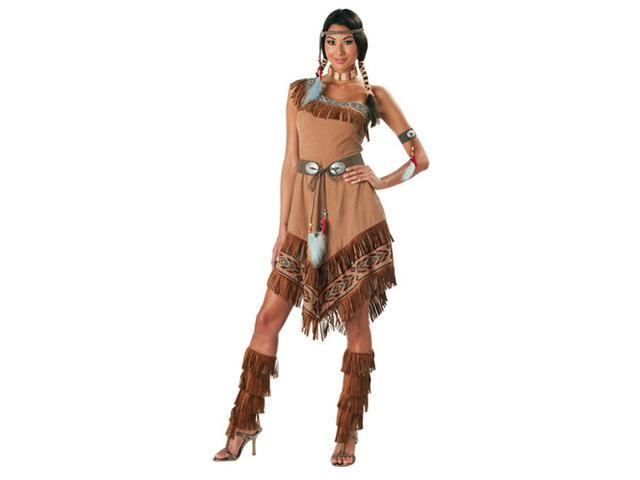 Super Deluxe Indian Maiden Costume - Native American Indian Costumes - Sexy