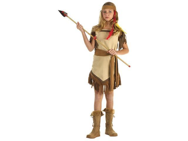 Girls Indian Princess Costume - Native American Indian Costumes
