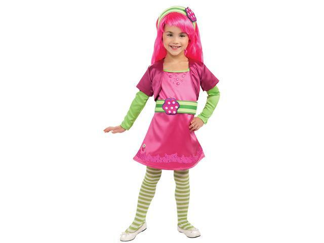 Girls Deluxe Raspberry Tart Costume - Strawberry Shortcake Costumes