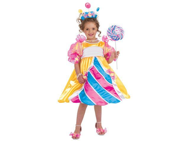 Girls Deluxe Candy Princess Costume - Girls Princess Costumes