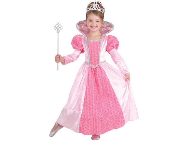 Girls Princess Rose Costume - Girls Princess Costumes